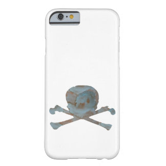 Skull and bones barely there iPhone 6 case
