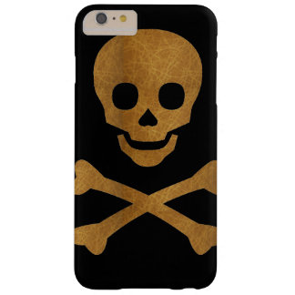 Skull and Bones Barely There iPhone 6 Plus Case