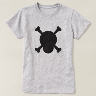 Skull and Bones black symbol T-Shirt