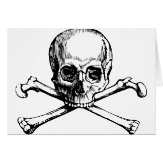 Skull and Bones Card