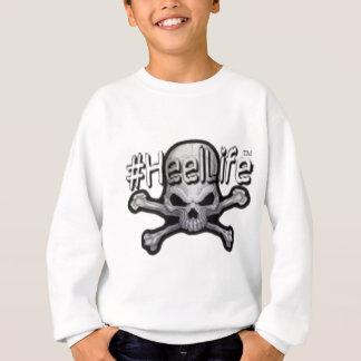 skull and bones #HeelLife Sweatshirt