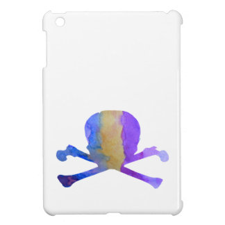 Skull and bones iPad mini cases