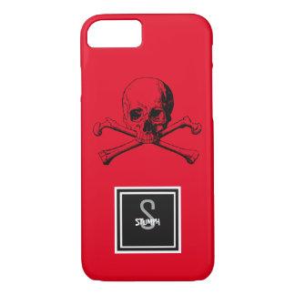 skull and boneS iPhone 8/7 Case