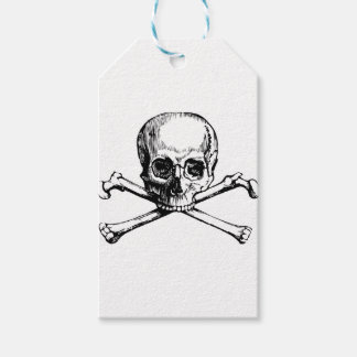 Skull and Bones Pack Of Gift Tags