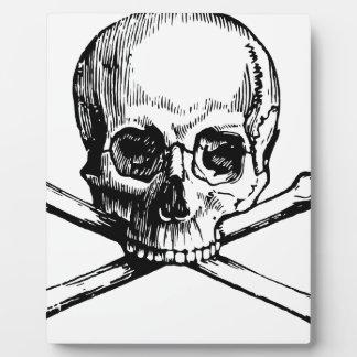 Skull and Bones Plaque