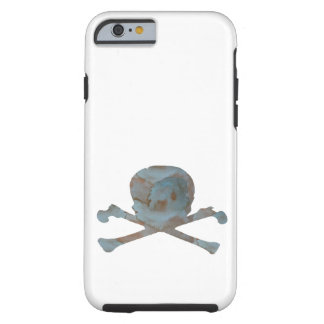 Skull and bones tough iPhone 6 case