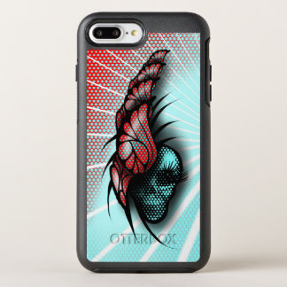 Skull and Butterflies OtterBox Symmetry iPhone 8 Plus/7 Plus Case