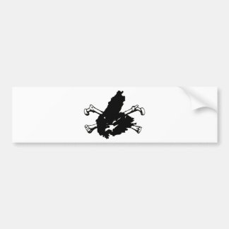 Skull and Cape Breton Bumper Sticker