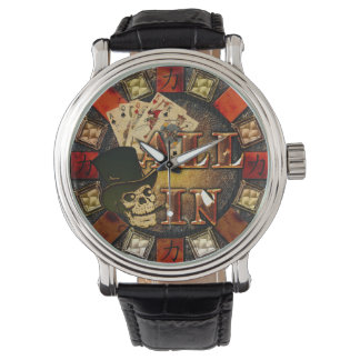Skull and Cigar All In Watch