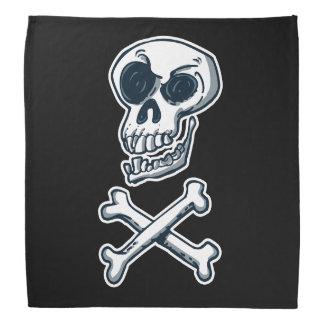 skull and croosbones classical cartoon bandana