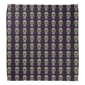 Skull and Cross Bandana