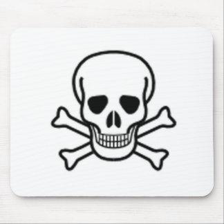 Skull and Cross-bones Mouse Pad
