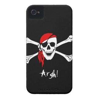 Skull and Cross Bones Pirate iPhone 4 Covers