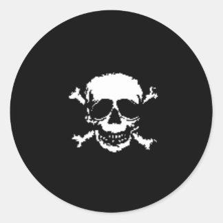 Skull and Cross Bones Sticker