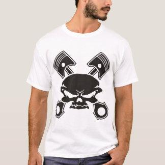 Skull and Cross Pistons T-Shirt