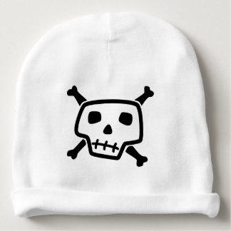 Skull and Crossbones Baby Beanie