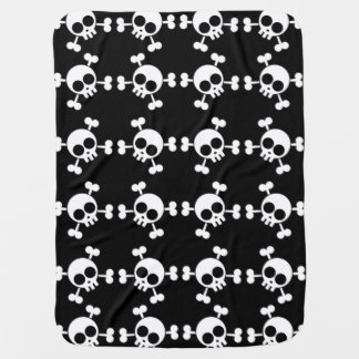 Skull and Crossbones Baby Blanket