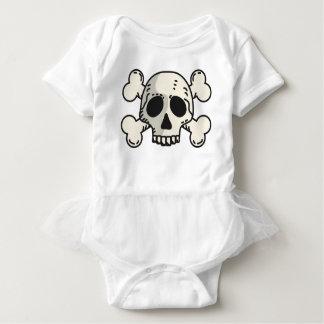 Skull and Crossbones Baby Bodysuit