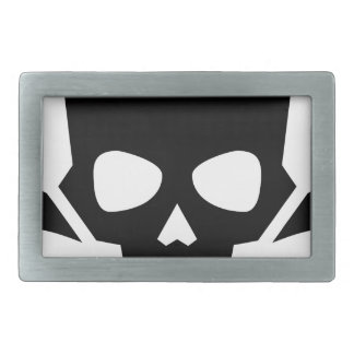 Skull and Crossbones Belt Buckles
