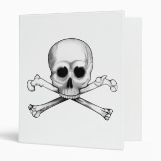 Skull and Crossbones Binder