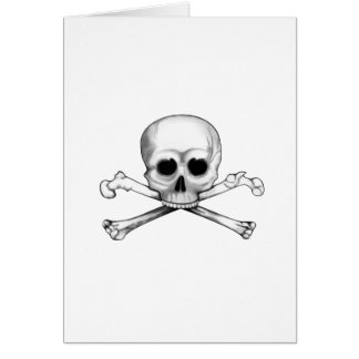Skull and Crossbones Card