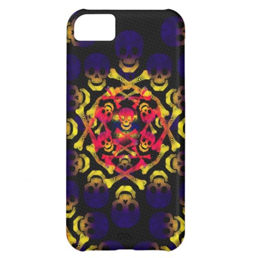 skull and crossbones cover for iPhone 5C