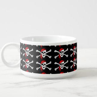 Skull and Crossbones Chili Bowl
