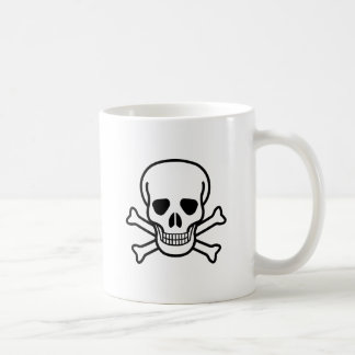 Skull and Crossbones death symbol Coffee Mug