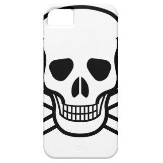 Skull and Crossbones death symbol iPhone 5 Cases