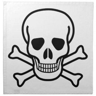 Skull and Crossbones death symbol Napkin