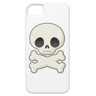 Skull and Crossbones emo kawaii cute goth skulls iPhone 5 Cover