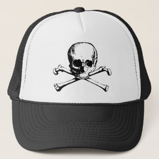 Skull and Crossbones Foam Cap