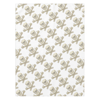 Skull and Crossbones Giving Thumbs Up Tablecloth