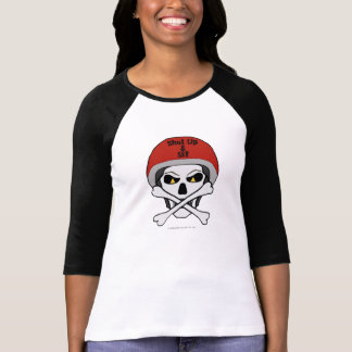 Skull and crossbones jersey T-Shirt