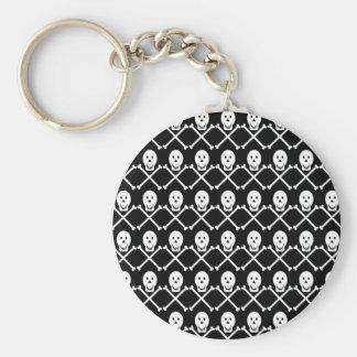 Skull-and-Crossbones Keychain