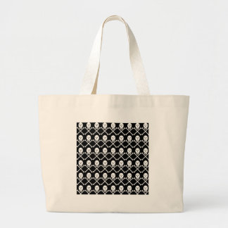 Skull-and-Crossbones Large Tote Bag