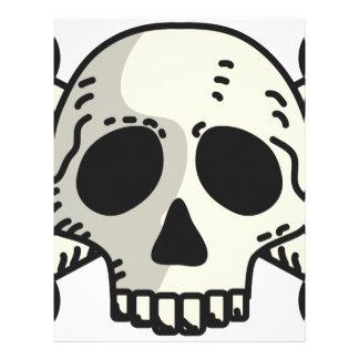 Skull and Crossbones Letterhead