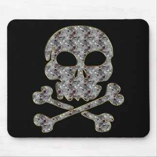 SKULL AND CROSSBONES MOUSE PAD