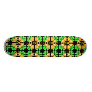 Skull and Crossbones Pattern Skate Board Decks