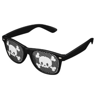 Skull and Crossbones Pirate Glasses