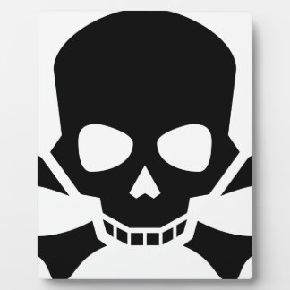 Skull and Crossbones Plaque