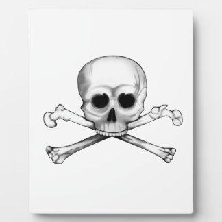 Skull and Crossbones Plaque