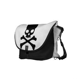 Skull and Crossbones Skeleton Bones Messenger Bags