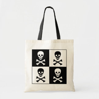Skull and Crossbones Tote Bag