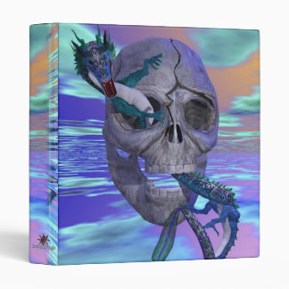 Skull and Dragon Binder