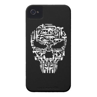 Skull and Guns and Knives Products Case-Mate iPhone 4 Case