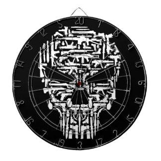 Skull and Guns and Knives Products Dartboard