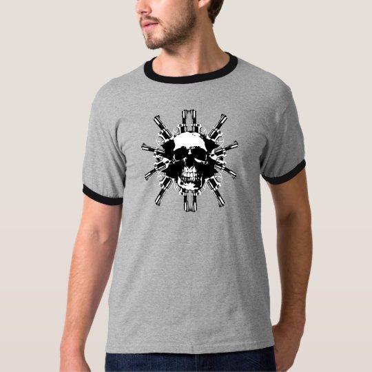 Skull and Guns T T-Shirt