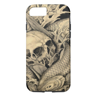 Skull and Koi iPhone 7 Case