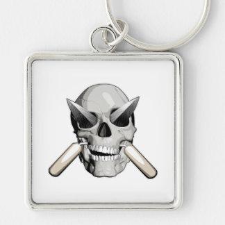 Skull and Mason Trowels v2 Key Chains